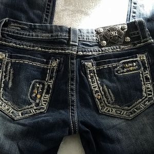 * Miss Me jeans sz 27 boot cut with 31 inch inseam